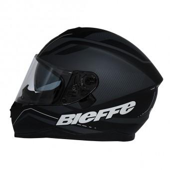 Casco Bieffe Int. B67  Graf  Negro Brillo T L