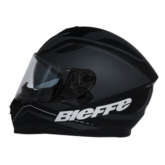 Casco Bieffe Int. B67  Graf  Negro Brillo T Xl