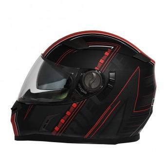 Casco Bieffe Int. B52 Booster Negro/rojo T M