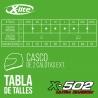 Casco X-502 Ultra Puro 001 L 8030635715811
