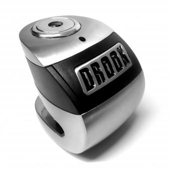 Candado P/disco 6mm Con Alarma Acero Inox/negro (x20)
