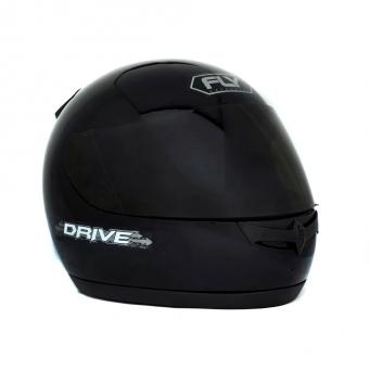 Casco Drive Classic Negro Mate Visor Oscuro T60
