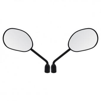 Espejo Xre 300 11 Negro Convex. Rosca Inversa M8 (par)