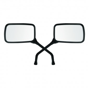 Espejo Strada/ Twister Negro Adap. Honda (par)
