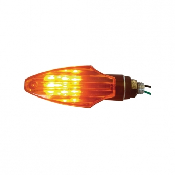 Faros Mini Univ. Super Flechita Naranja Led