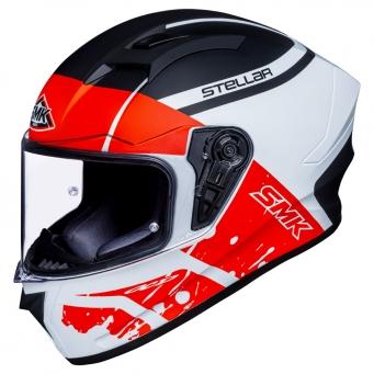 Casco Stellar Squad Blanco/rojo/negro S