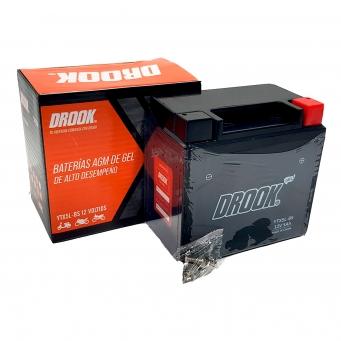 Bateria Drook Gel Ytx5l-bs 12v 4ah 114 X 70 X 105 (caja X10)