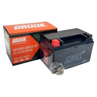 Bateria Drook Gel Ytx7a-bs 12v 7ah 150 X 87 X 93 (caja X10)