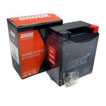 Bateria Drook Gel Ytx7l-bs 12v 7ah 114 X 70 X 130 (caja X10)