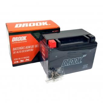 Bateria Drook Gel Ytx9-bs 12v 9ah 150 X 87 X 105 (caja X10)