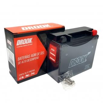 Bateria Drook Gel 12n7a-3a 12v 7ah 150 X 60 X 130 (caja X10)