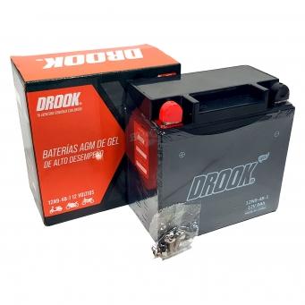 Bateria Drook Gel 12n9-4b-1 12v 9ah 133 X 77 X 136 (caja X10)
