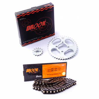 Kit Ax100 14/42 428h +  Cad 428x118 Negra