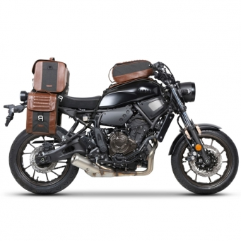 Set Sop. Lat. Yamaha Xsr 700 + 1 Alf. Lat. Sr38 Cafe Racer