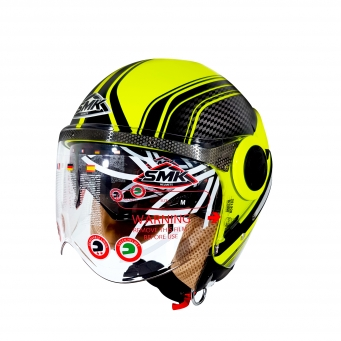 Casco Sirius Sharp Amarillo Fluor (dv) M