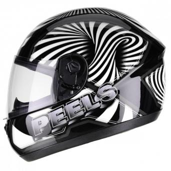 Casco Spike 3d Negro/blanco T62
