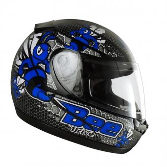 Casco Drive Hg Bee Negro/azul T60