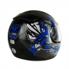 Casco Drive Hg Bee Negro/azul T61