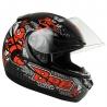 Casco Drive Hg Bee Negro/rojo T58