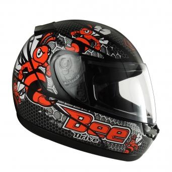 Casco Drive Hg Bee Negro/rojo T61