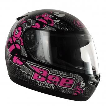 Casco Drive Hg Bee Negro/rosa T56