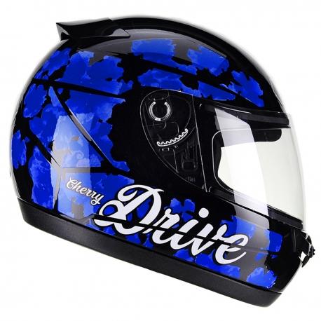 Casco Drive Hg Cherry Negro/azul T61