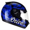 Casco Drive Hg Cherry Negro/azul T60