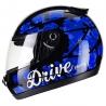Casco Drive Hg Cherry Negro/azul T58