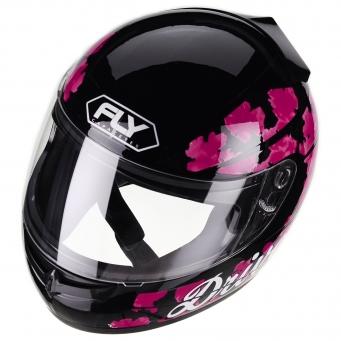 Casco Drive Hg Cherry Negro/rosa T56