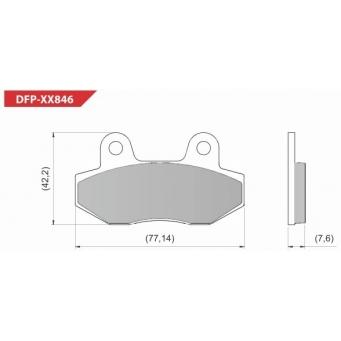 Pastilla D  F  Diafra Laser 150d Zanella  110 Chinas  40 U
