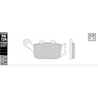 Pastilla Semi Metalica  Ref  Fa174