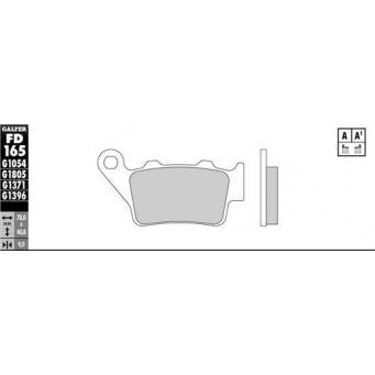 Pastilla Semi Metalica  Ref  Fa213