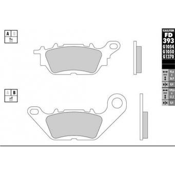 Pastilla Semi Metalica  Ref  Fa464