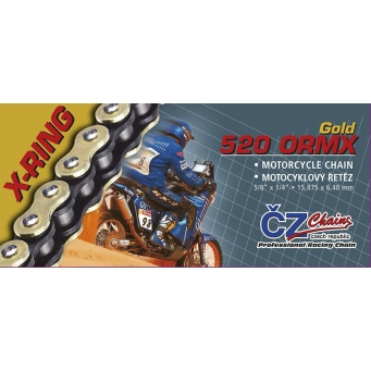 Cadena Cz X Ring 520 Dzx  120  Kn 37 8  X10