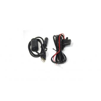 Kit Shad  Usb/cargador P/ Moto Con Conec. Y Fusibles