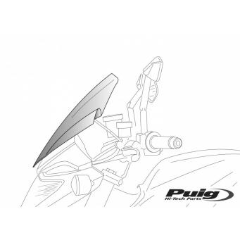 Cupula Touring Diavel 14/15 Transparente (450x355mm)