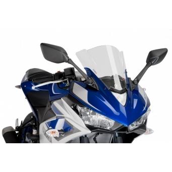 Cupula Racing Yzf - R3 15/17 Negro