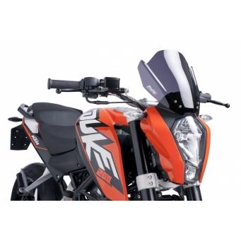 Parabrisas Sport Duke 125/200 11/14 Naranja