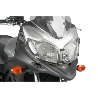 Protector Faro Dl650 Vstrom 12/15 - Xt 15 Transparente