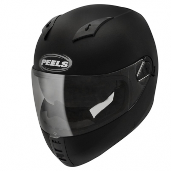 Casco Icon Negro Mate Doble Vis. T58