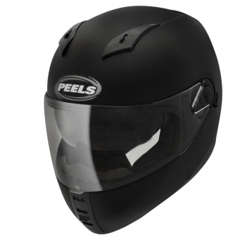 Casco Icon Negro Brillo Doble Vis. T56