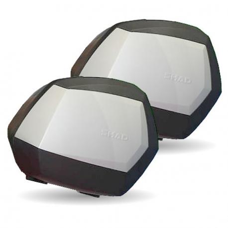 Juego Baules Shad Laterales Sh35 Aluminio