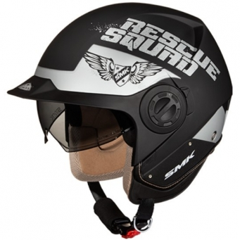 Casco Derby Rescue Negro Mate/gris M
