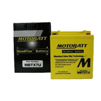 Motobatt Q Flex  12v 8ah 114 X 70 X H 128 128  8u