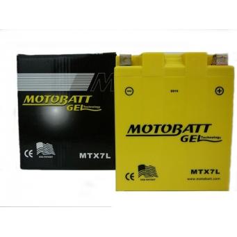 Motobatt Gel  12v 7ah    113 X 70 X H133  8u