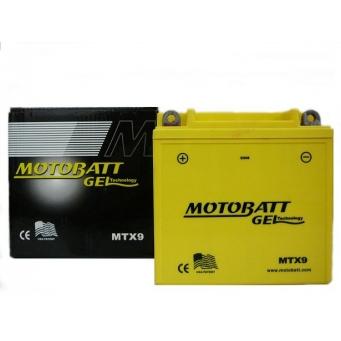 Motobatt Gel  12v 9ah  137 X 76 X H133  8u