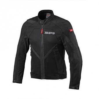 Campera Netstream Con Malla Negra L