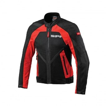 Campera Netstream Con Malla Roja/negra Xl