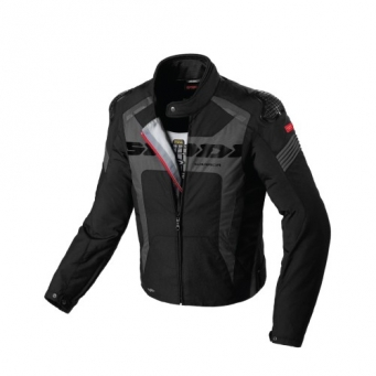 Campera Warrior H2out Imperm. C/ Protec. Negra Xl