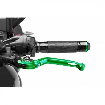 Palanca De Freno Abatible C/ Selector Negro/verde